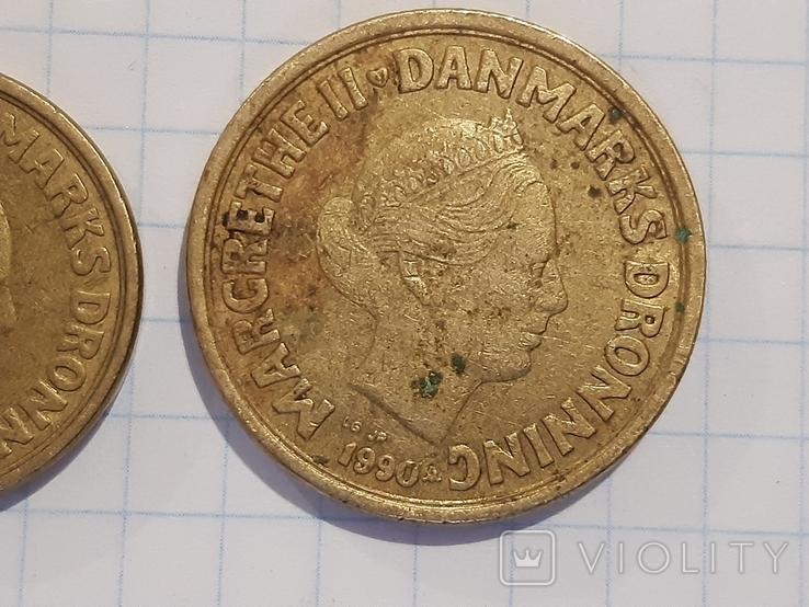 10 и 20 крон, Дания, фото №7