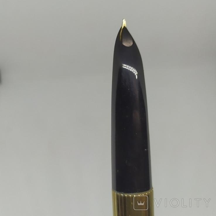 Ручка перьевая с золотым пером Golden Star. Китай., фото №6