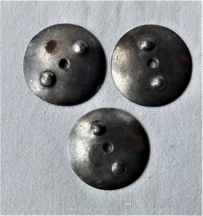 Закрутки орденские 3 шт., реплики, реакция на инд. серебра (8), фото №2