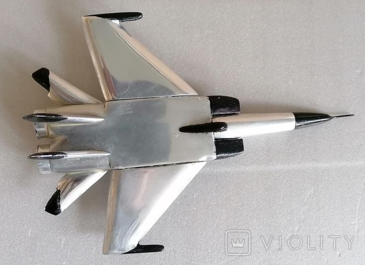 Реактивний літак, МИГ 31?, сувенір з СРСР, фото №8