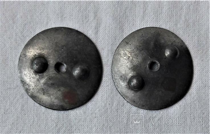 Закрутки орденские 2 шт., реплики, реакция на инд. серебра (10), фото №2