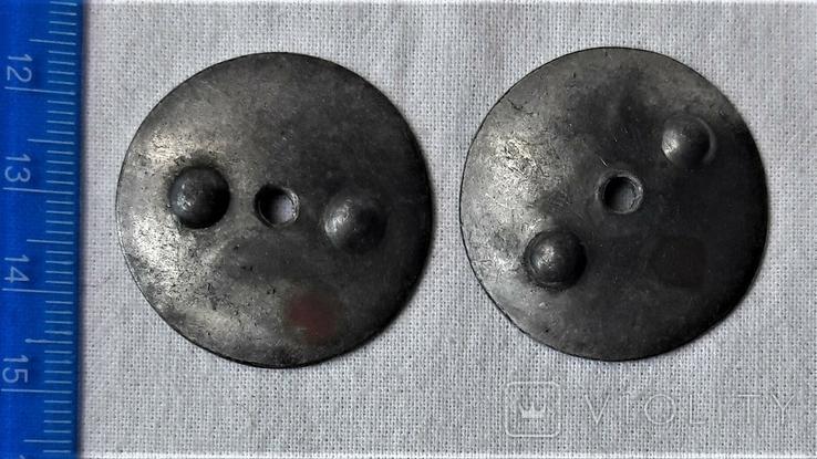 Закрутки орденские 2 шт., реплики, реакция на инд. серебра (10), фото №3