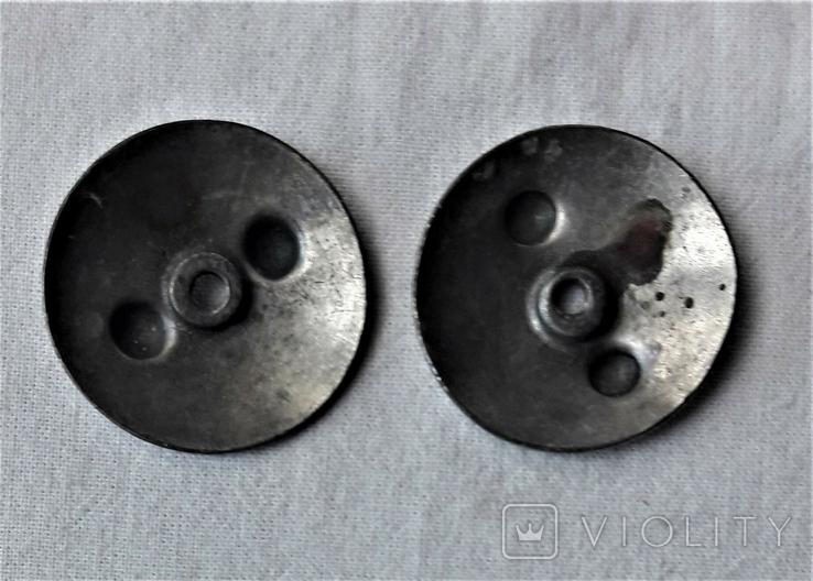 Закрутки орденские 2 шт., реплики, реакция на инд. серебра (10), фото №5