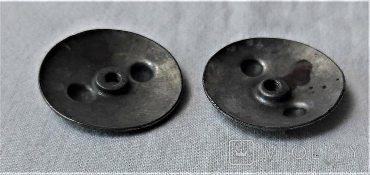 Закрутки орденские 2 шт., реплики, реакция на инд. серебра (10), фото №6
