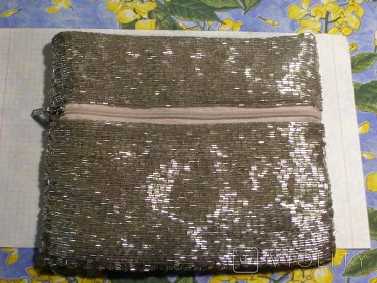 Сумка клатч бисер, фото №2