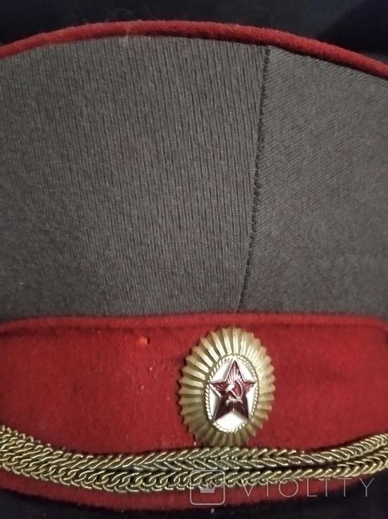 Фуражка и погоны офицера СА СССР, фото №8