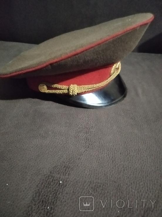 Фуражка и погоны офицера СА СССР, фото №11