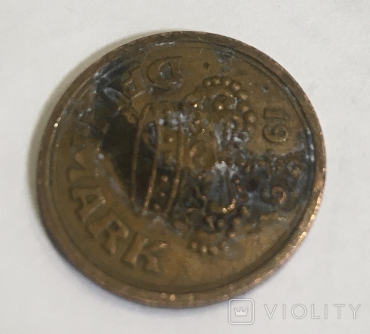 Монета Дании 50 ере, фото №4