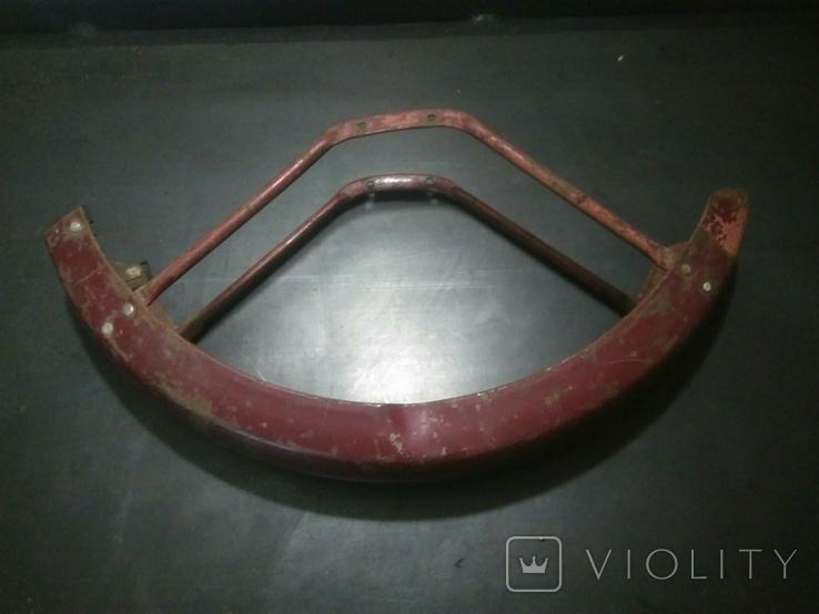 Переднее крыло от мопеда верховина, фото №3