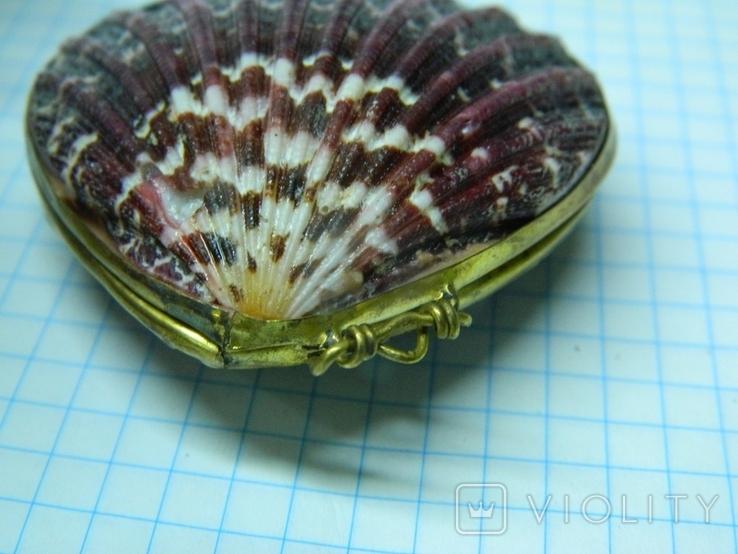 Шкатулка из ракушек, фото №5