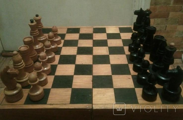 Шахматы деревянные, фото №2