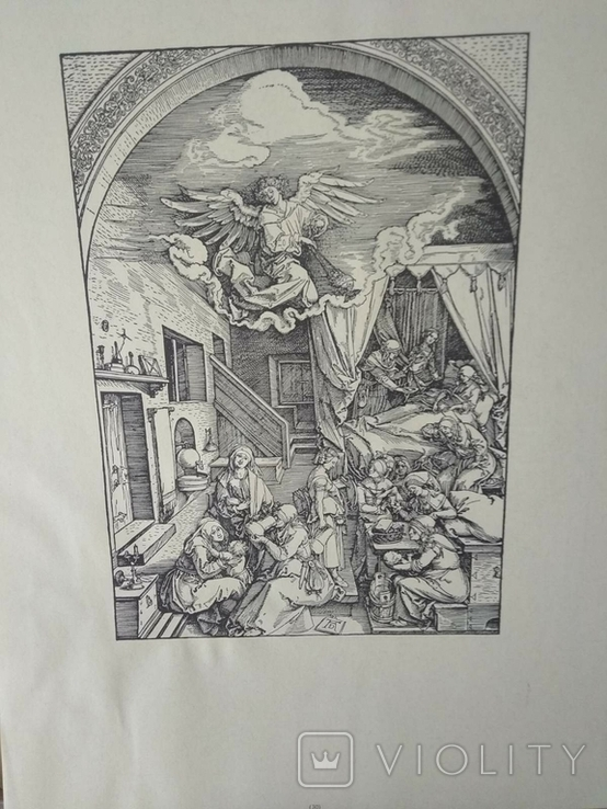 Альбом гравюр Альбрехта Дюрера, фото №6