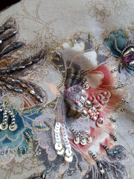 Винтажная расшитая сумка Accessorize, фото №6