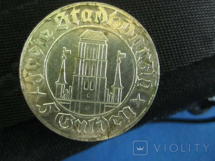 5 гульденов Данциг 1932(копия)., фото №9