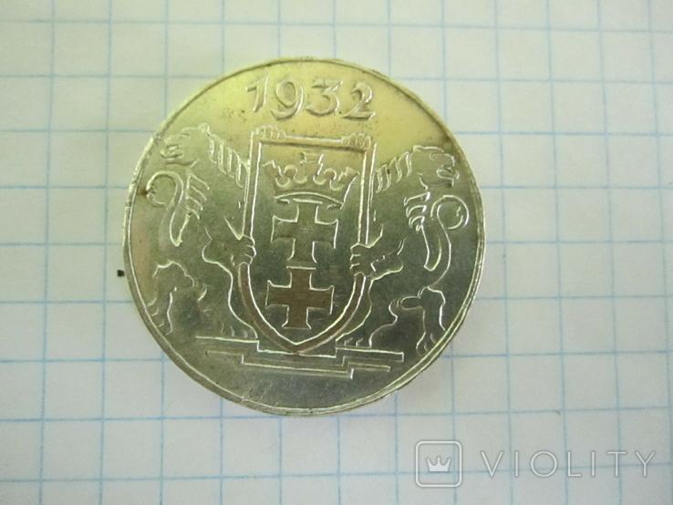 5 гульденов Данциг 1932(копия)., фото №11