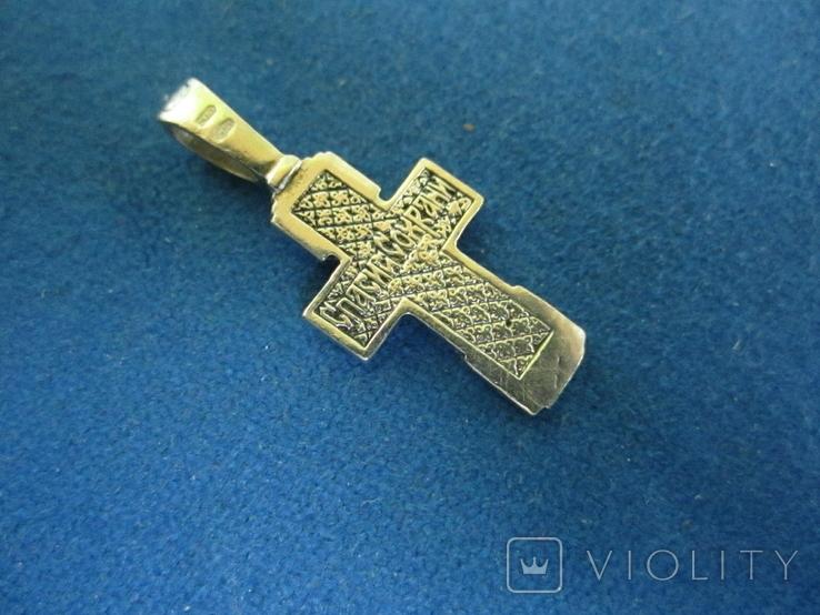 Крестик серебро., фото №5