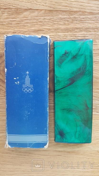Сувенирный набор ручек Союз посвященный олимпиаде 80, фото №10
