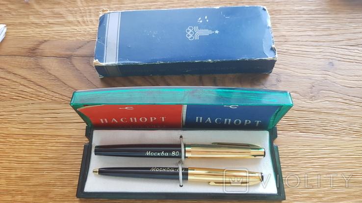 Сувенирный набор ручек Союз посвященный олимпиаде 80, фото №11