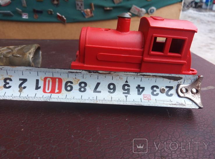 Игрушка поезд красний СССР, фото №6