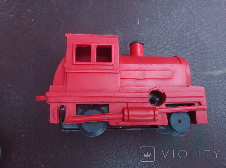 Игрушка поезд красний СССР, фото №10