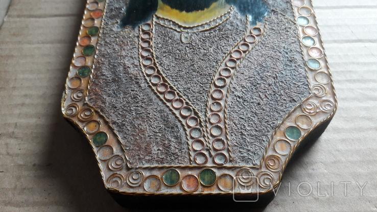 Икона Иисус Христос. ( дерево. ручная работа), фото №11