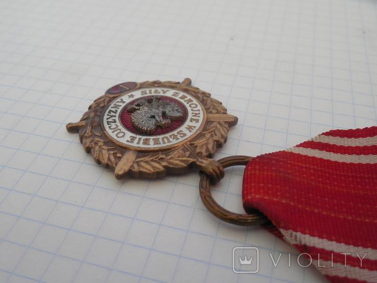 Медаль Вооруженные силы на службе Родине Польша, фото №5