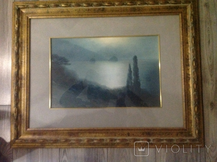 Картина Костанди Х.Д. Лунная ночь на море, фото №6