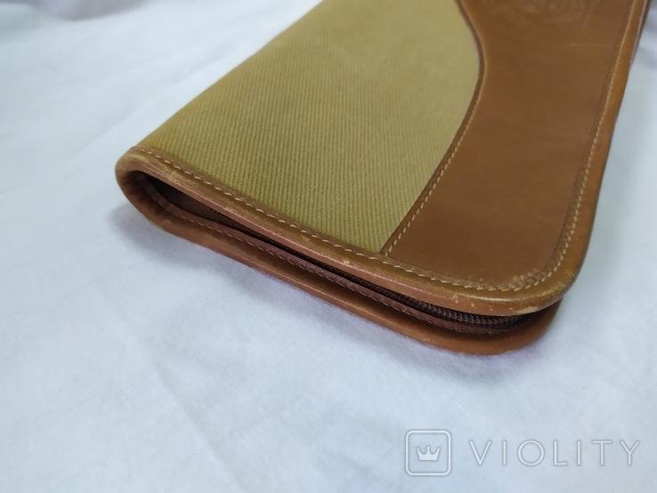 Фирменная номерная сумочка для галстуков Original Ghurka Bag 43. №L410. 40,5х13см., фото №6