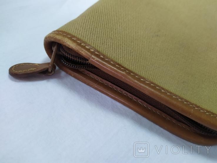 Фирменная номерная сумочка для галстуков Original Ghurka Bag 43. №L410. 40,5х13см., фото №10