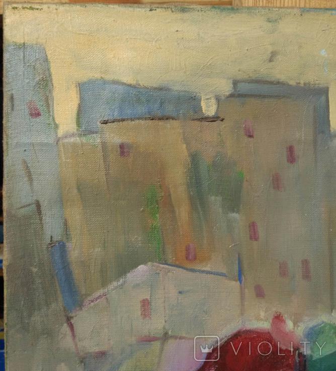 """Картина """"Снеговик"""",х.м.60*50см, фото №4"""
