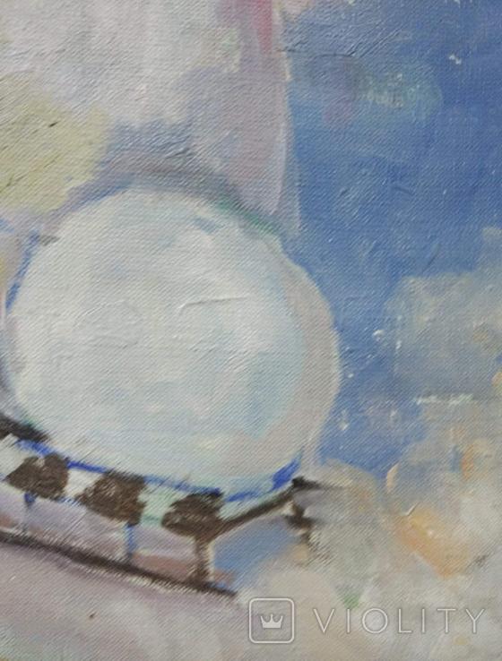 """Картина """"Снеговик"""",х.м.60*50см, фото №9"""