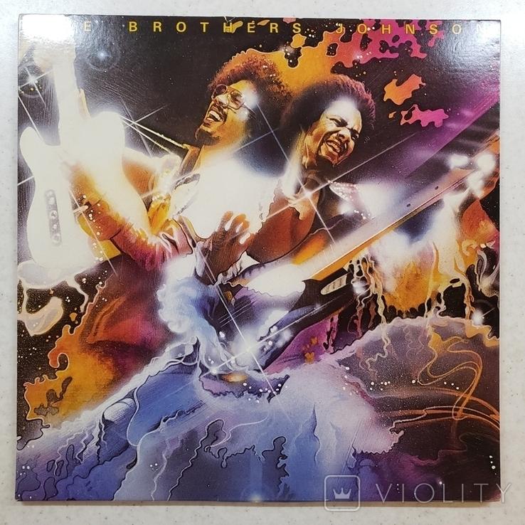 """Платівка. Funk / Soul. """"Brothers Johnson Blam!!"""" Gatefold, фото №2"""