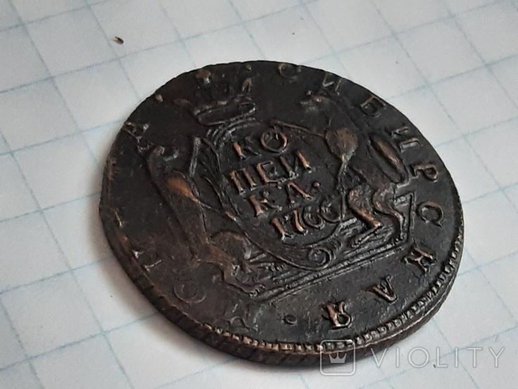 Копейка 1766 (копия), фото №3