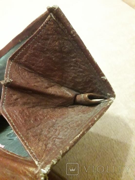 Клатч винтаж тиснённая кожа 50-е,, фото №12