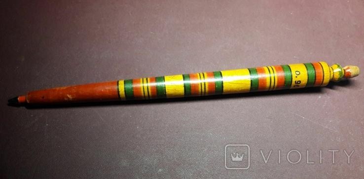 Шариковая ручка из дерева, фото №2