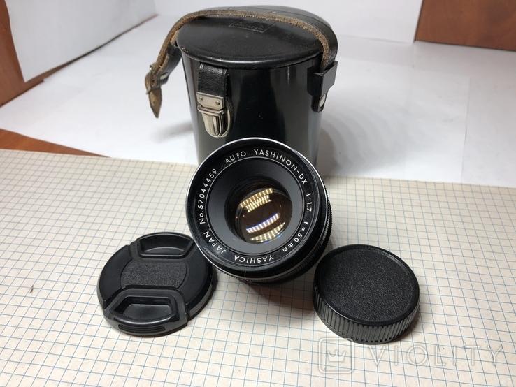 Светосильный обьектив Yashica 1.7/50мм Япония м42, фото №2