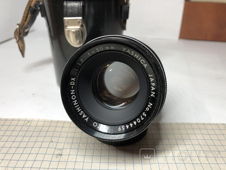 Светосильный обьектив Yashica 1.7/50мм Япония м42, фото №3