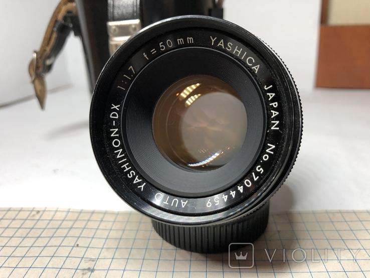 Светосильный обьектив Yashica 1.7/50мм Япония м42, фото №4