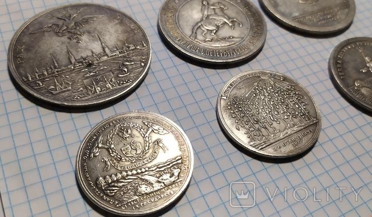 Лот из 6 их медалей.штамп,копии., фото №4