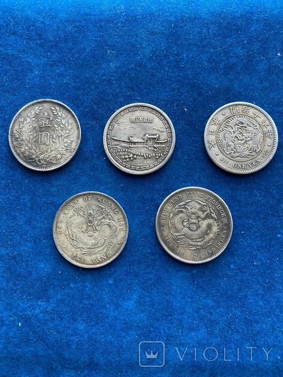Копии азиатских монет, фото №4