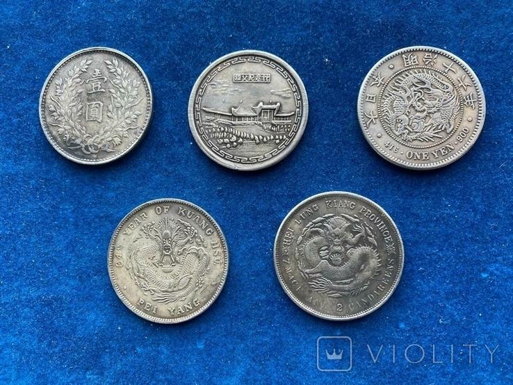 Копии азиатских монет, фото №5