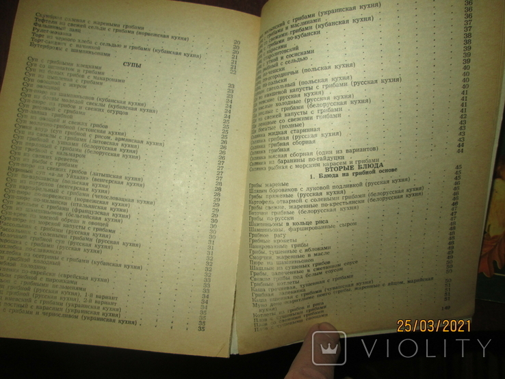 Грибная кухня народов мира -2 книги, фото №8