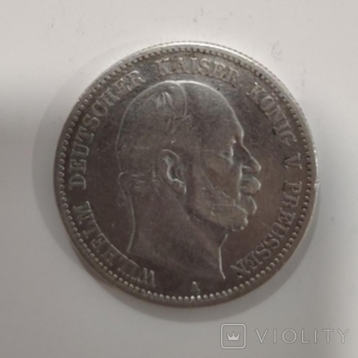 2 марки Пруссия 1880, сохран., фото №7