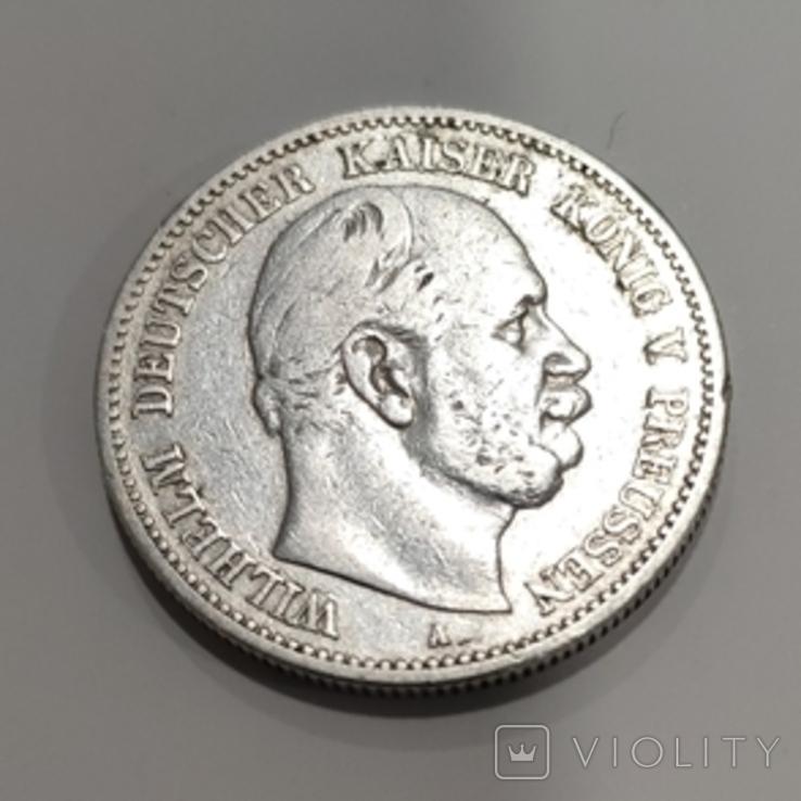 2 марки Пруссия 1880, сохран., фото №2