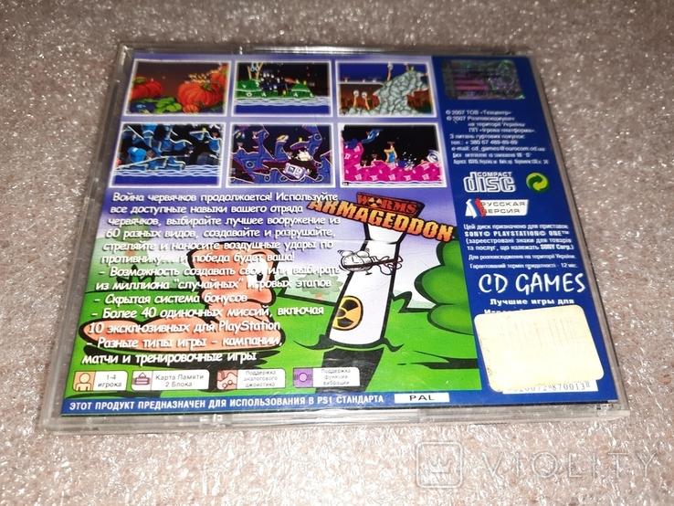 Игра для Sony Playstation Червяки армагедон, фото №3
