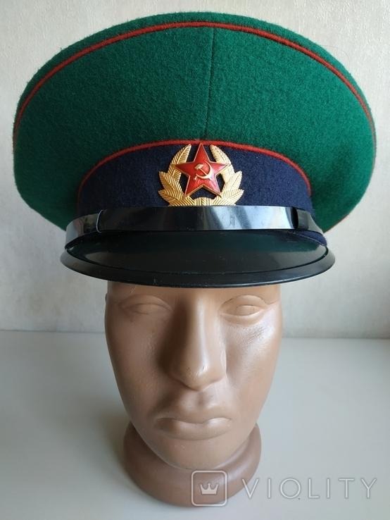 Фуражка пограничника ПВ КГБ СССР, фото №2