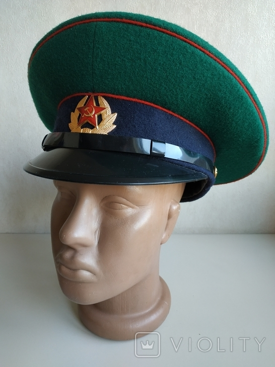 Фуражка пограничника ПВ КГБ СССР, фото №3