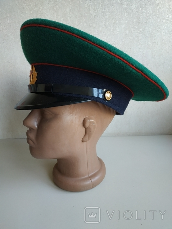 Фуражка пограничника ПВ КГБ СССР, фото №4