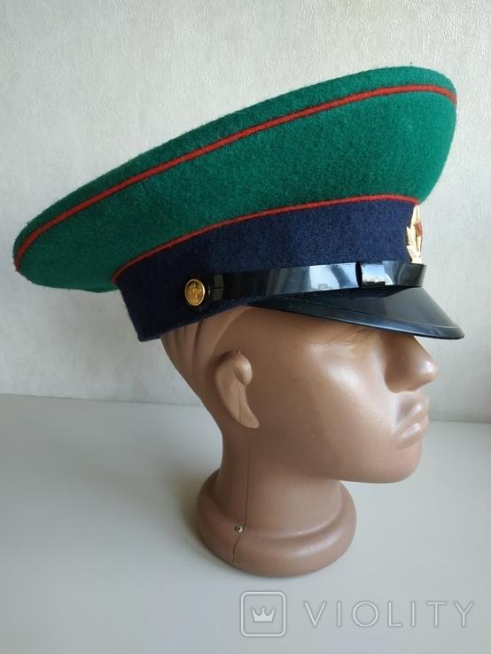 Фуражка пограничника ПВ КГБ СССР, фото №7