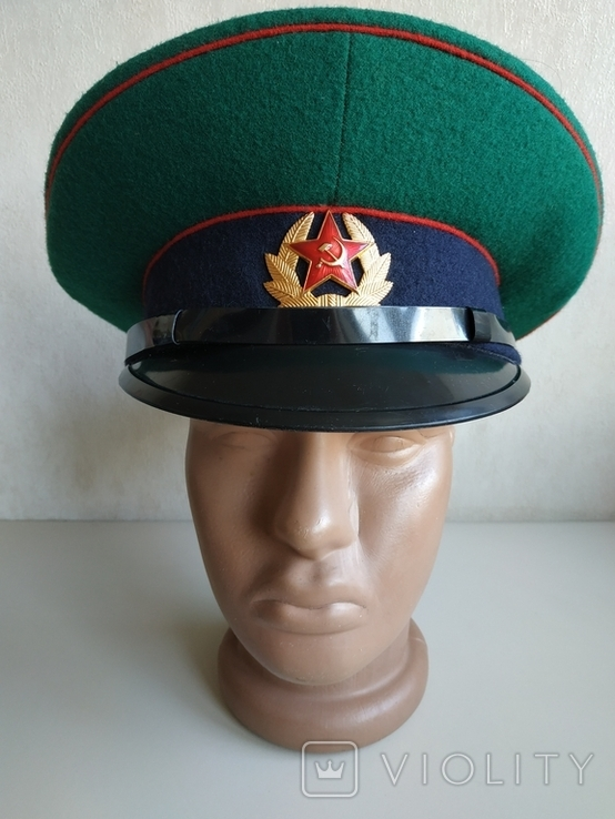 Фуражка пограничника ПВ КГБ СССР, фото №8